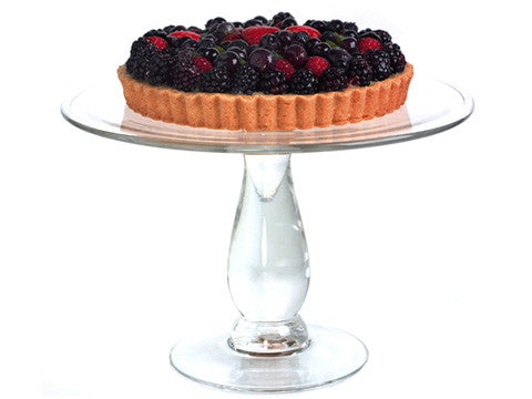 Clear Simplicity Cake Stand 11""