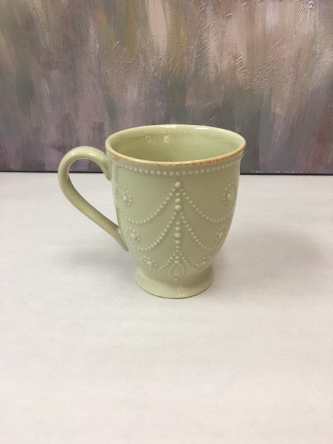 Lenox French Perle Green Mug