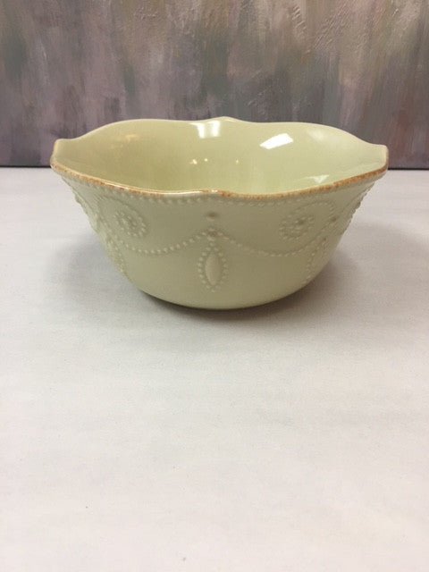 Lenox French Perle Green Cereal Bowl