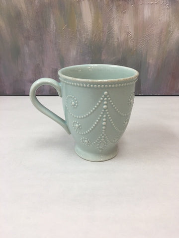 Lenox French Perle Blue Mug