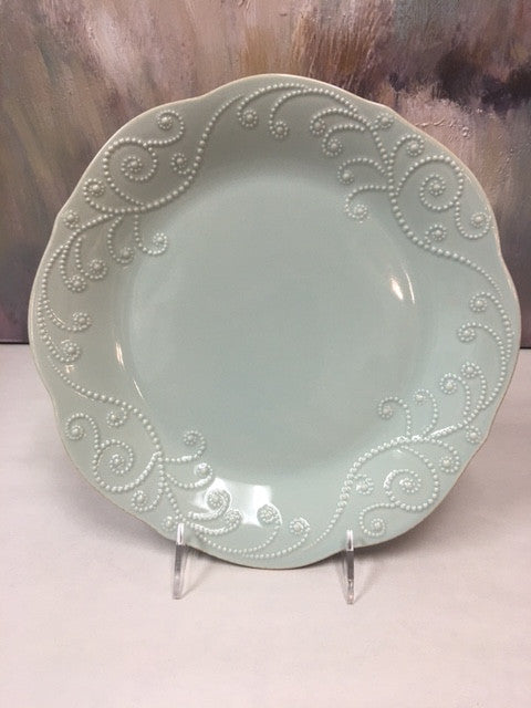 Lenox French Perle Blue Dinner Plate