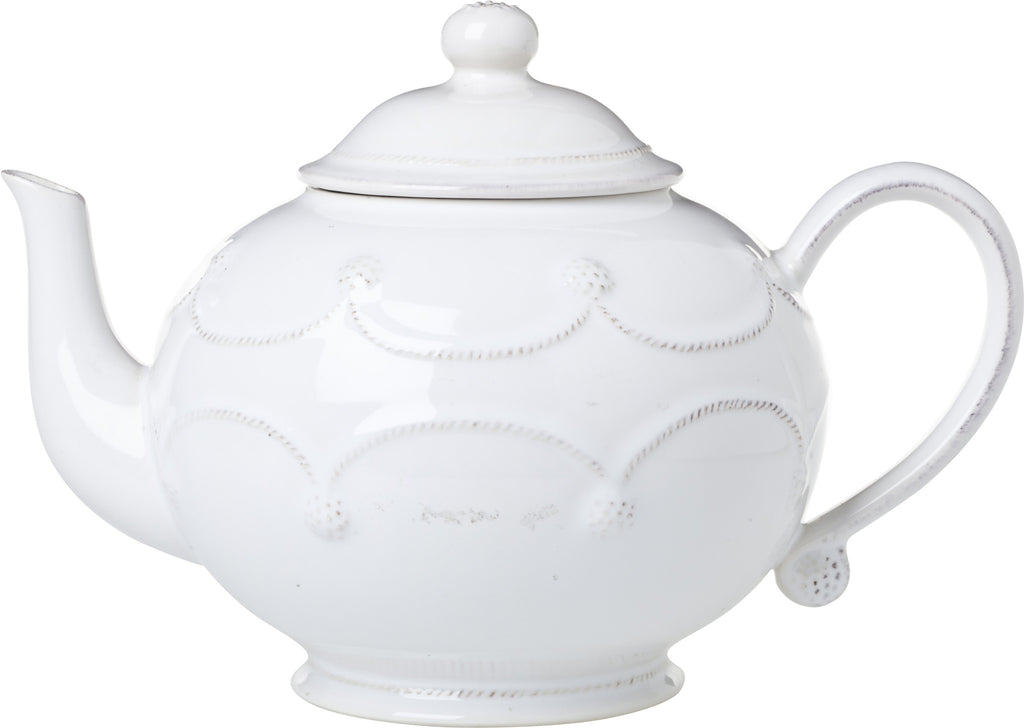 Juliska Berry & Thread Whitewash Teapot
