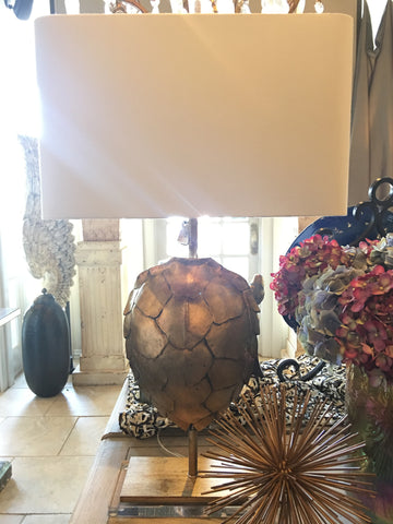 Tortoise Shell Lamp