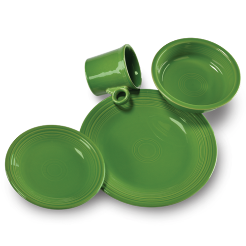 Fiesta Shamrock 4 Piece Place Setting