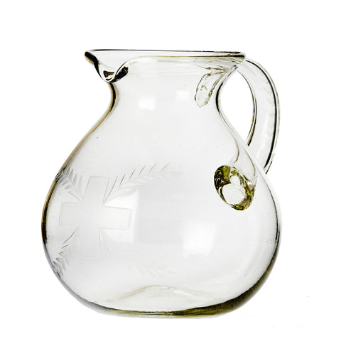 Cruz & Laurel Pitcher w/Etching