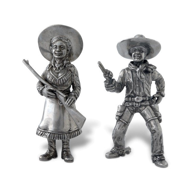 Cowboy & Cowgirl Salt and Pepper Shaker
