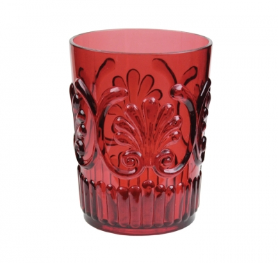 Le Cadeaux Berry Red Water Glass