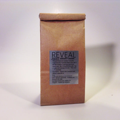 REVEAL cleanser in eco refillable packaging