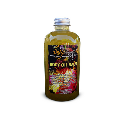 BODY OIL BALM moisturizer for BACK BAR