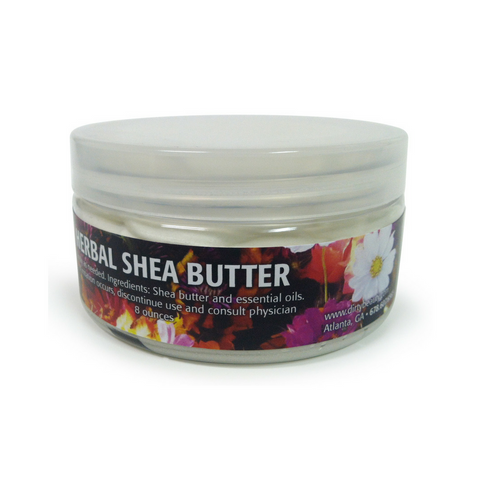 WHIPPED SHEA BUTTER with Custom Labels