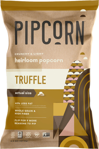 Pipcorn Heirloom Popcorn, Truffle