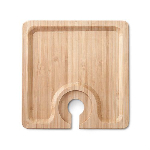 True Bamboo Appetizer Plate