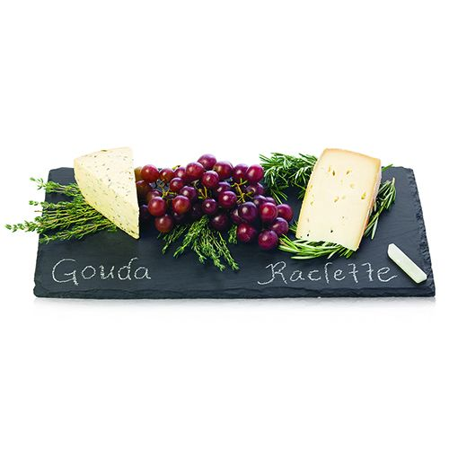 True Slate: Cheese Board & Chalk Set