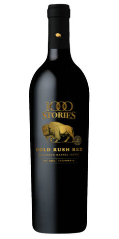 1000 Stories Gold Rush Bourbon Barrel Red