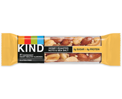 Kind Honey Roasted Nuts and Sea Salt Bar