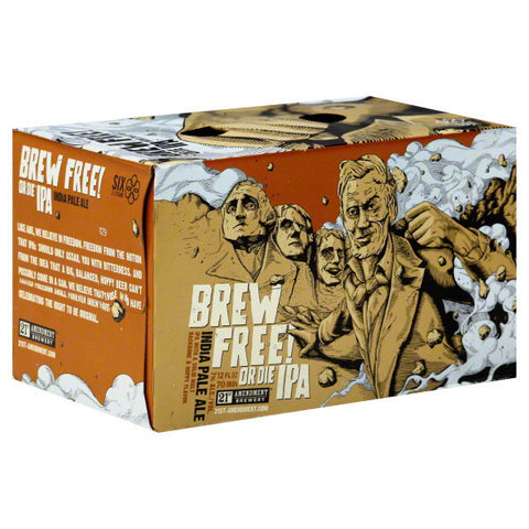 21st Amendment Brewery Brew Free Ipa 6Pk