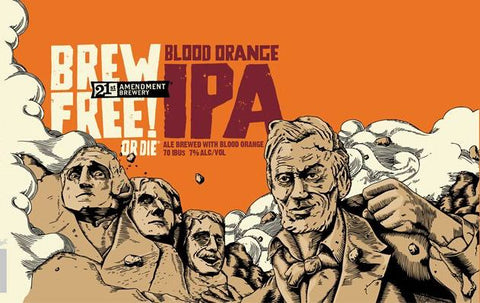 21st Blood Orange Brew Free IPA 6pk