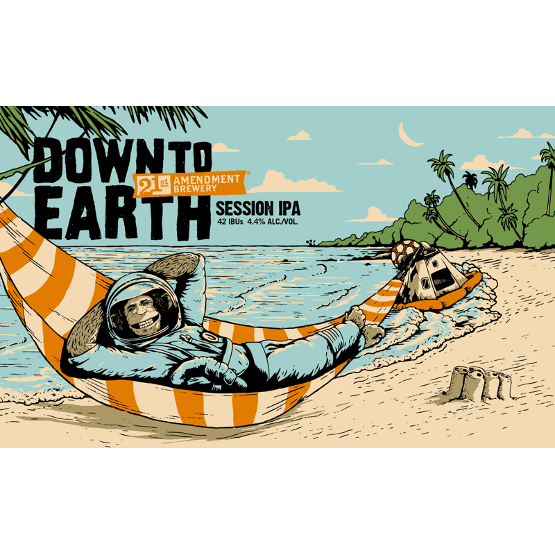 21St Amendment Down To Earth Session Ipa 6Pk