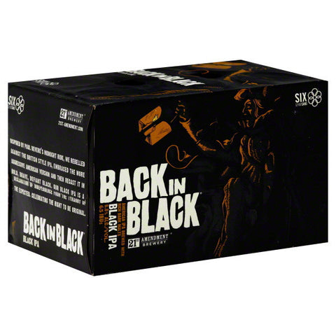 21St Amendment Back In Black Ipa 6Pk