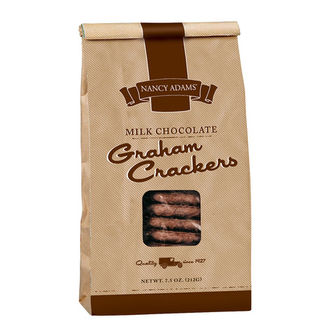 Nancy Adams Milk Chocolate Graham Crackers