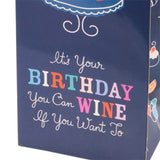 Birthday Cake Wine Bag