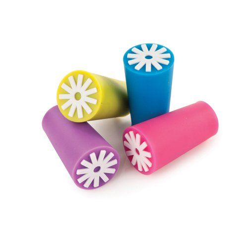 True Starburst: Silicone Bottle Stoppers (Set of 4)