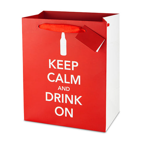 True Keep Calm Beer Bag