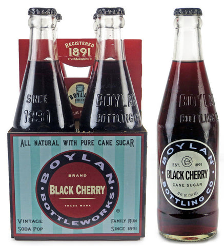 Boylan Black Cherry Soda 4-Pack