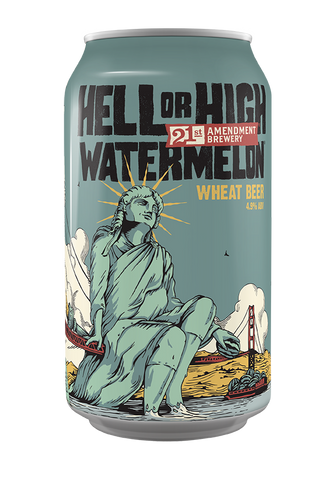 21st Amendment Brewery Hell or High Watermelon 6PK Cans