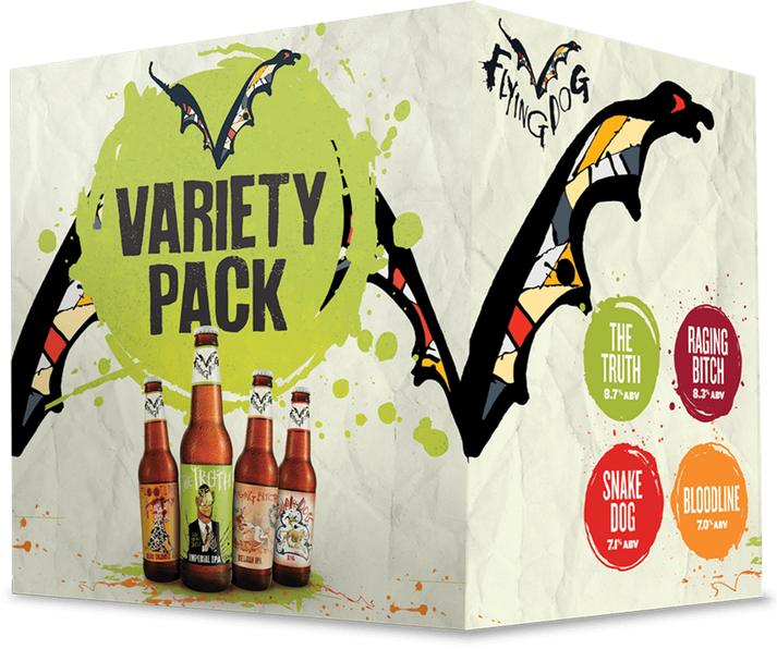 Flying Dog Variety 12Pk