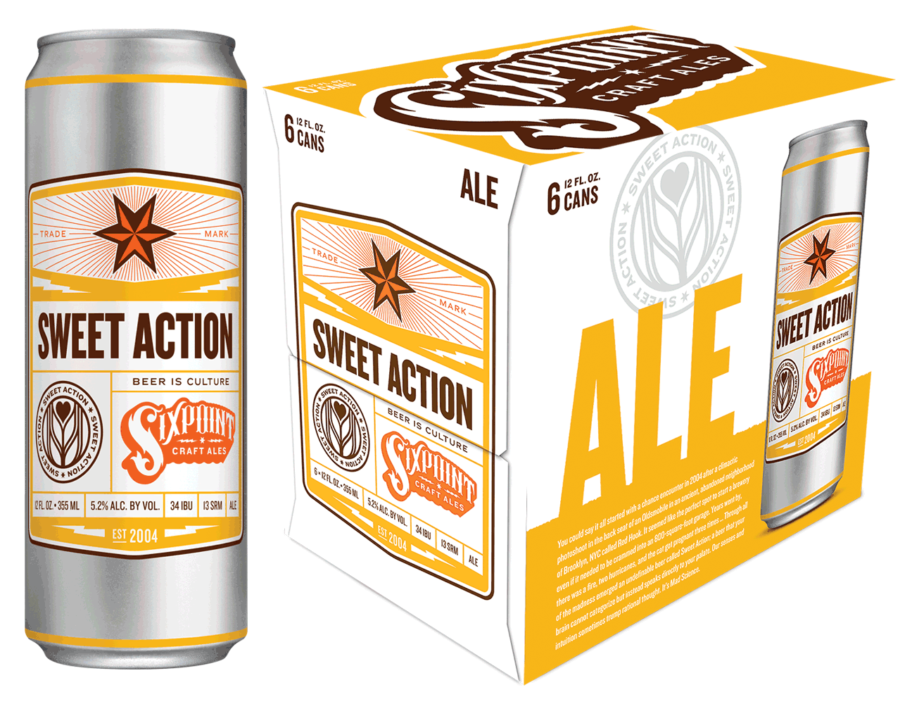 Six Point Brewery Sweet Action 6Pk