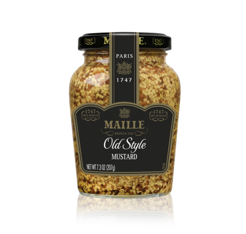 Maille Mustard Old Style Whole Grain 8oz
