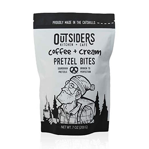 Outsiders Kitchen Coffee + Cream Pretzels