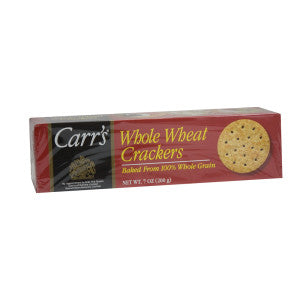 Carr's Whole Wheat Cracker