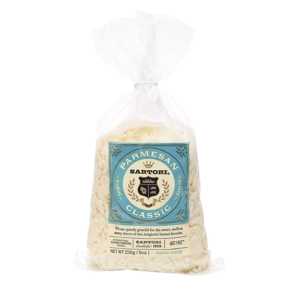 Sartori Classic Shaved Parmesan - 8oz Bag