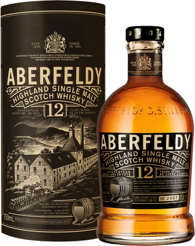 Aberfeldy 12yr Single Malt Scotch Whiskey