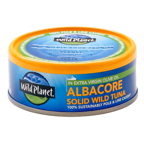 Wild Planet Albacore Wild Tuna in Olive Oil