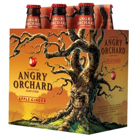 Angry Orchard Apple Ginger Cider 6Pk