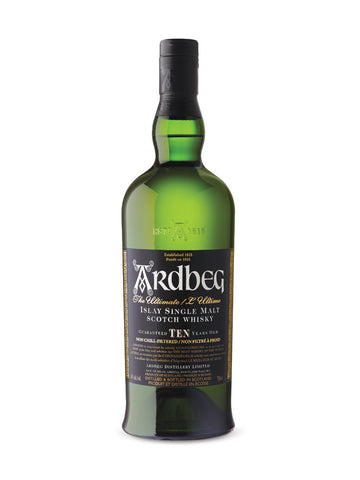 Ardbeg Islay 10Yr Single Malt Scotch Whiskey