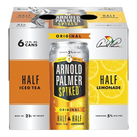 Arnold Palmer Spiked Half & Half 6pk - 12oz Cans