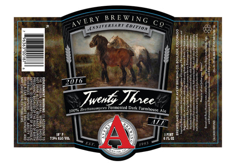 Avery Anniversary Twenty Three 22Oz