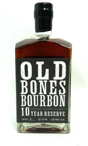 BACKBONE OLD BONES 10YR BOURBON WHISKEY