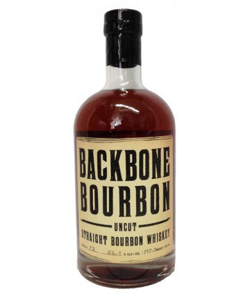 BACKBONE UNCUT BOURBON WHISKEY