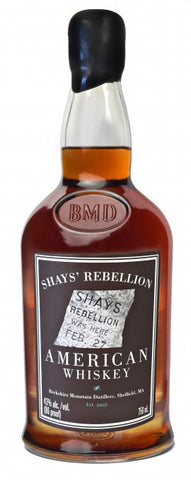 Berkshire Shay's Rebellion American Whiskey