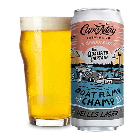 Cape May Brewing Boat Ramp Champ 16oz 4pk Can