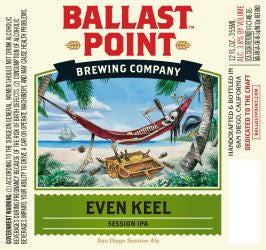 Ballast Point Even Keel Session Ipa 6Pk Can