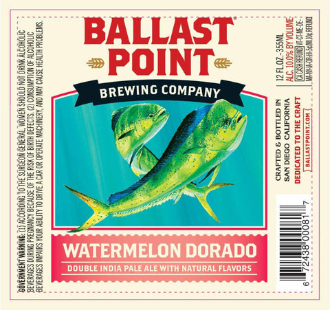 Ballast Point Watermelon Dorado 6Pk
