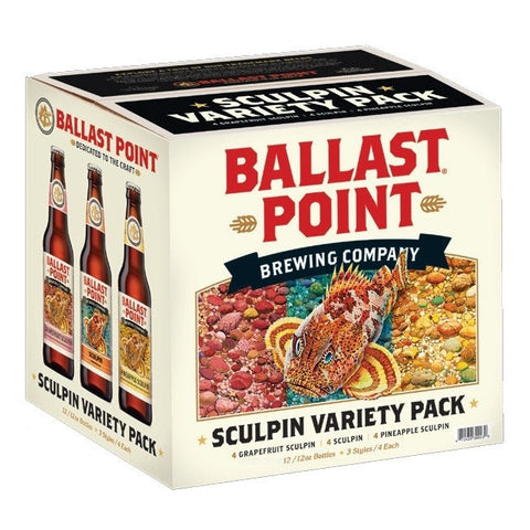 Ballast Point Sculpin Variety 12Pk