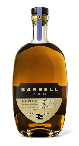 Barrel Craft Cask Strength Rum #1 Bourbon Barrel Aged