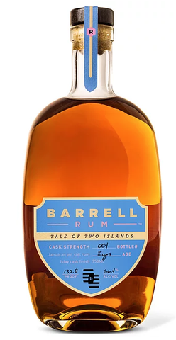Barrel Craft Rum Tale of Two Islands